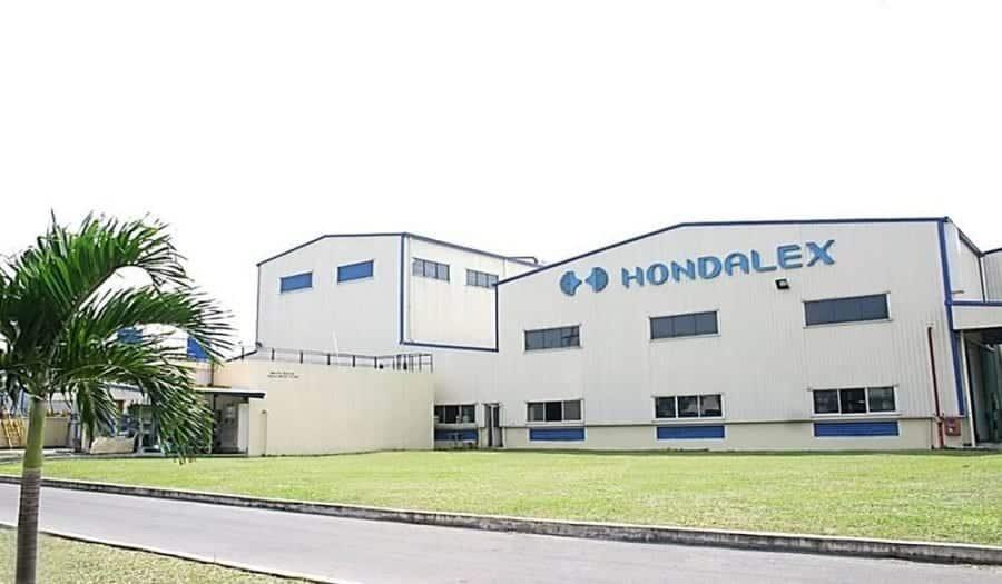 Nhà máy nhôm thanh định hình nhật bản Hondalex