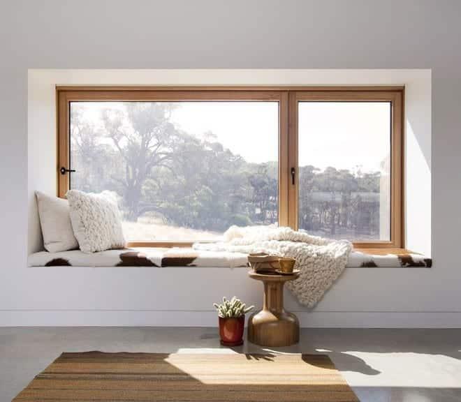 Cửa sổ hình chữ nhật: Kiểu dáng cửa sổ thiết kế nhà đẹp theo phong cách Châu Âu