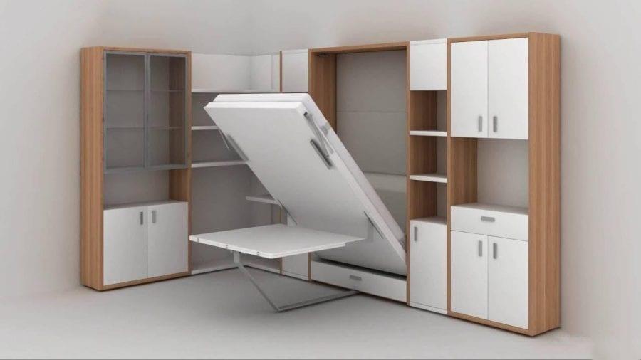 Nội thất thông minh giúp ngôi nhà trông gọn gàng hơn đáng kể
