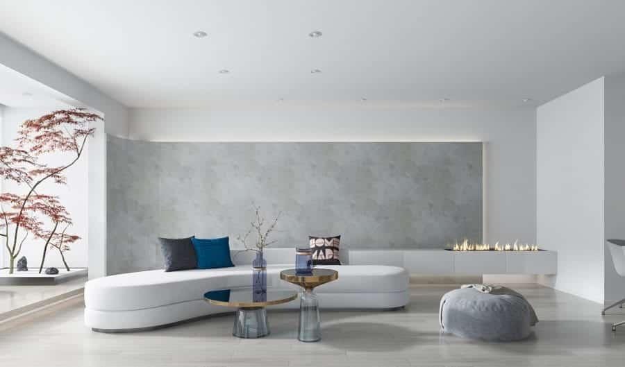 Ngược lại với ý tưởng trên sẽ là một phong cách tối giản trong phần thiết kế nội thất