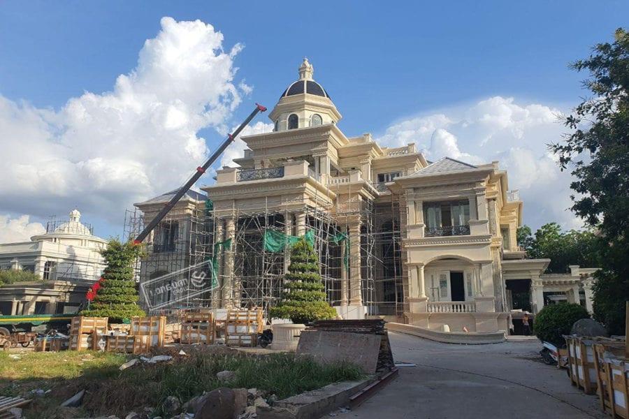 Công trình Mr.Ben biệt thự triệu đô tại Campuchia sử dụng nhôm LV150