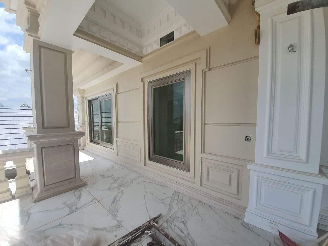 Cửa nhôm Long Vân được ứng dụng trong các công trình biệt thự