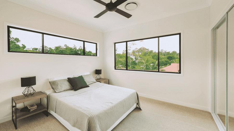 Cửa sổ lùa nhôm kính tạo ra sự thoáng đãng cho căn phòng