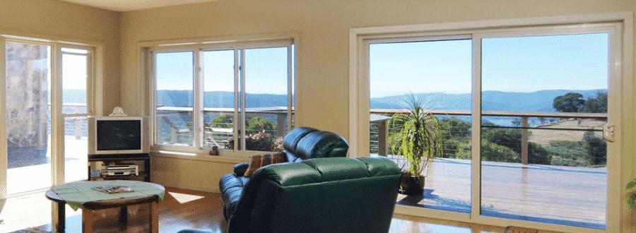 Cửa sổ lùa nhôm kính được sử dụng cho nhiều công trình