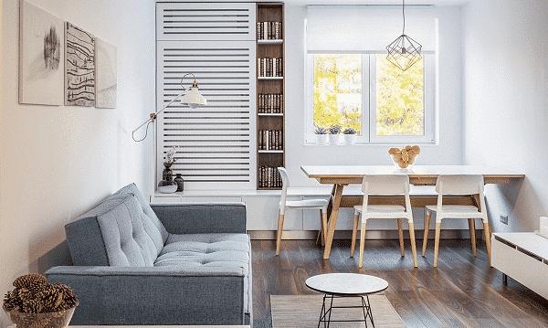 Cửa sổ nhỏ đón nắng vào nhà