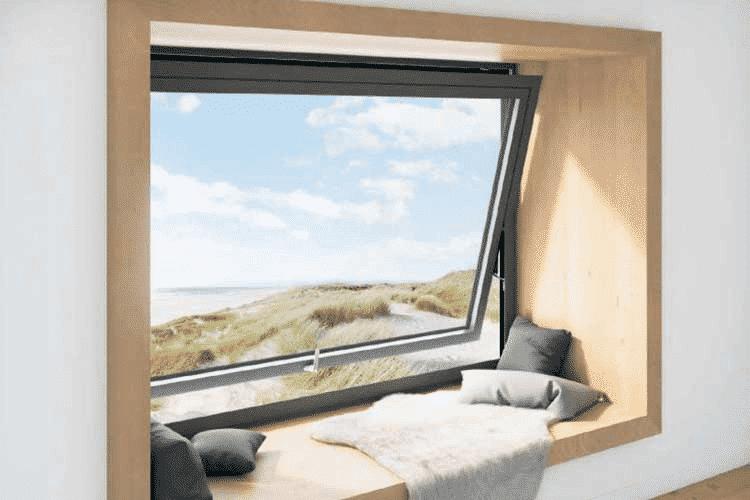 Cửa thông gió có kết cấu tương đối giống với những loại cửa thường
