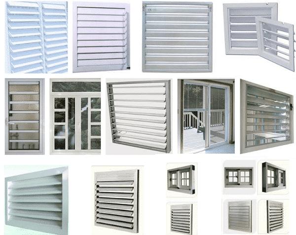 Cửa thông gió mang đến sự mát mẻ cho ngôi nhà