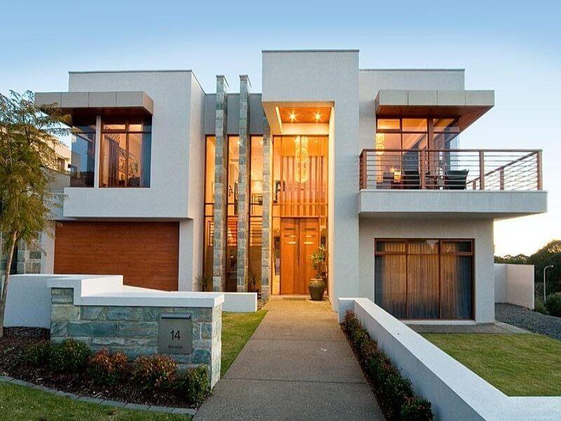 Cửa nhôm kính tôn lên nét đẹp hiện đại cho ngôi nhà
