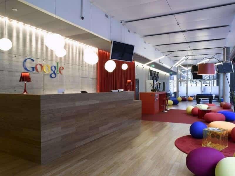 Văn phòng làm việc của Google