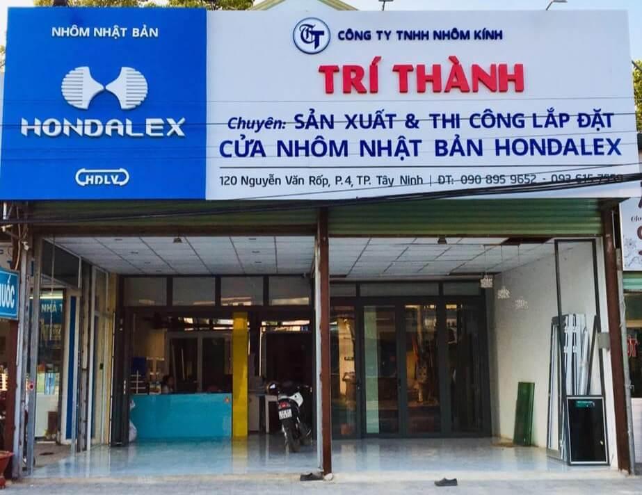Cửa hàng nhôm Trí Thành