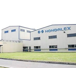 Nhà máy nhôm Nhật Bản Hondalex thuộc tập đoàn HONDA METAL INDUSTRIES, chuyên sản xuất nhôm định hình tiêu chuẩn Nhật JIS H4100 và Mỹ ASTM B211M sử dụng trong các ngành kiến trúc, xây dựng, trang trí nội ngoại thất, thiết bị giáo dục, vận tải, hàng tiêu dùng và các sản phẩn có ứng dụng nhôm khác...
